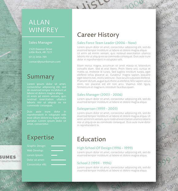 Una poderosa plantilla de currículum vitae gratis