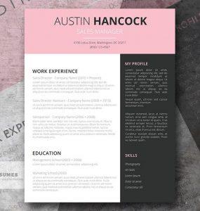 Bubble Gum | Una plantilla de currículum vitae creativa y gratuita para Word