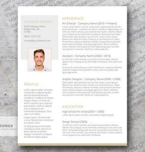 Limpio y con clase - Un diseño de currículum libre y elegante
