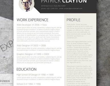 Diseño Creativo y Gratis de Curriculum Vitae - Inteligente y Profesional