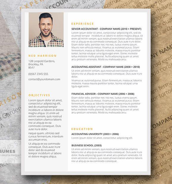 Plantilla CV Destacados sutiles