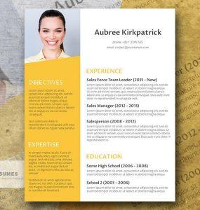 Sunny Afternoon - Diseño de Curriculum Vitae Creativo Gratis