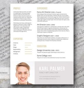 The Unconventional | Your Creative Resume Template Freebie